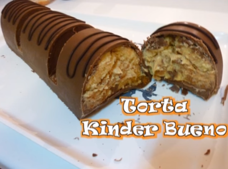 Exceptionnel Torta Kinder Bueno - Crazy Cake NY59
